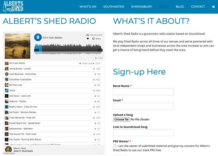 Music Venue Marketing UK