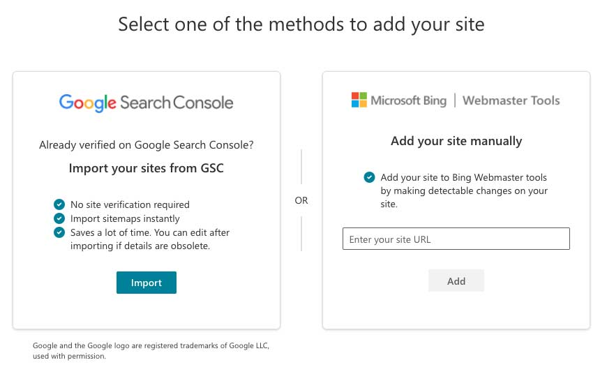 How to add your website to Bing Search Console