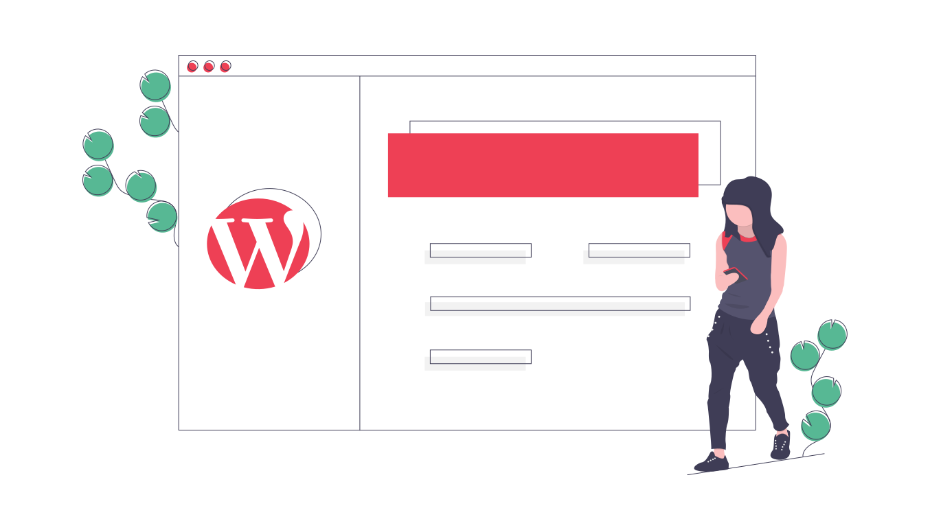 Image of a wordpress website from a page talking about cheap website design