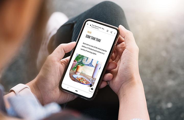 Image showing mobile web design agency in Market Drayton